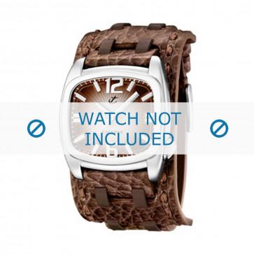 Calypso cinturino dell'orologio K5224/2 Pelle Marrone 26mm