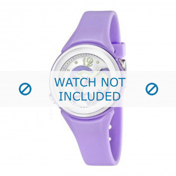 Calypso cinturino dell'orologio K5576-4 Gomma / plastica Viola
