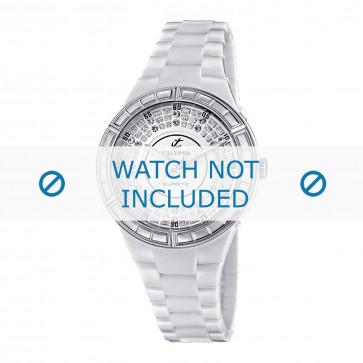 Cinturino per orologio Calypso K5582 Plastica Bianco 15mm