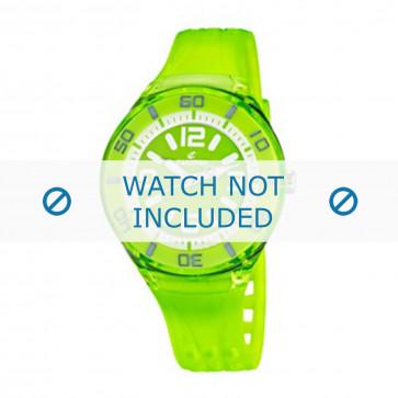 Calypso cinturino dell'orologio K5588/7  Gomma / plastica Verde
