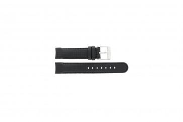 Cinturino per orologio Camel 4040-4059 Carbonio Nero 18mm