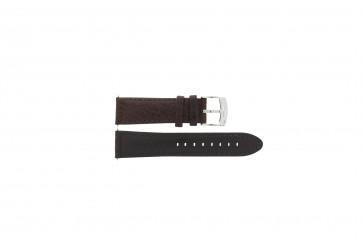 Cinturino per orologio Camel 4320-4347 / BC50938 WATERPROOF Pelle Marrone 22mm