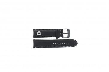 Cinturino per orologio Camel BC51067 Active Pelle Nero 24mm