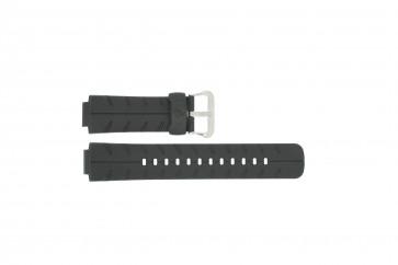 Cinturino per orologio Casio G-350L / G-300 / 10188556 Plastica Nero 16mm