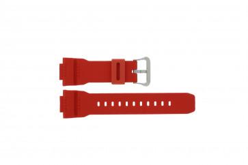 Casio cinturino dell'orologio G-7900A-4 / 10332099 Gomma / plastica Rosso 16mm