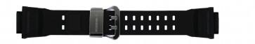 Casio cinturino dell'orologio GW-9400-1 / 10455201 Silicone Nero 19mm