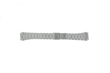 Cinturino per orologio Casio A158WEA-1EF / 70647733 Acciaio 18mm