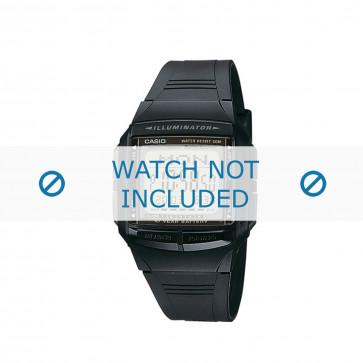 Casio cinturino orologio DB-36-1AVEF / DB-36-1AV  Acciaio Nero 18mm
