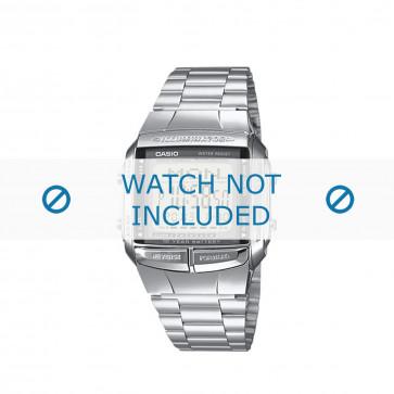 Cinturino per orologio Casio DB-360N-1AEF / DB-360N-1A / 10334579 Acciaio Acciaio 18mm