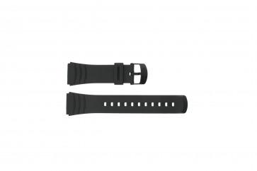 Casio cinturino orologio DBC-32C-1BW Gomma Nero 22mm