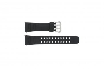 Casio cinturino orologio G-7400-1V Gomma Nero 16mm