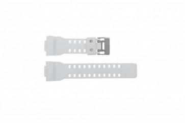 Casio cinturino orologio GA100A-7AW Gomma Bianco 27mm