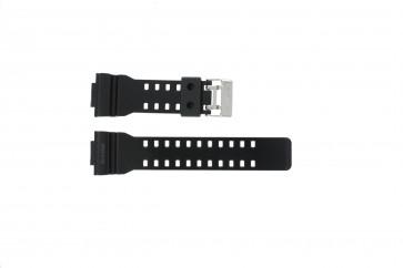 Casio cinturino orologio GLS-8900-1W Gomma Nero 16mm