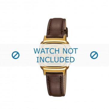 Cinturino per orologio LA670WEGL-9EF / LA670WEGL-9 / 10433815 Pelle Marrone 13mm