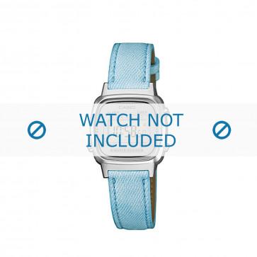 Casio cinturino orologio LA670WEL-2AEF / LA670WEL-2A  Pelle Blu 13mm