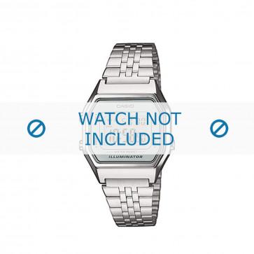 Casio cinturino orologio LA680WEA-7EF / LA680WEA-7  Acciaio Argento