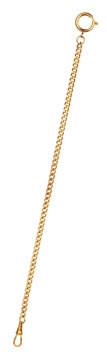 Orologio doppio da tasca con catenina (color oro)