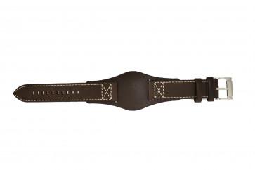Fossil cinturino orologio CH2599 Pelle Marrone scuro 22mm