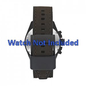 Fossil cinturino dell'orologio CH2804 Pelle Marrone 22mm + cuciture marrone