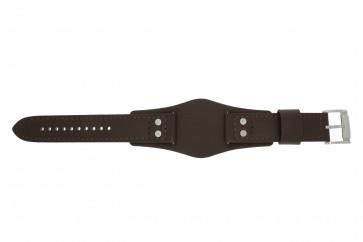 Fossil cinturino orologio CH-2890 / CH-2891 Pelle Marrone 22mm