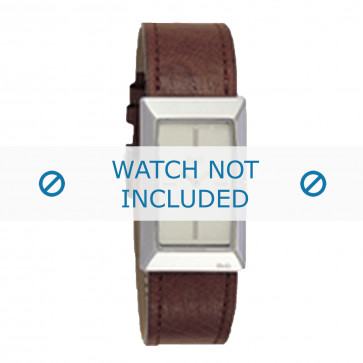 Dolce & Gabbana cinturino dell'orologio 3719040028 Pelle Marrone + cuciture marrone
