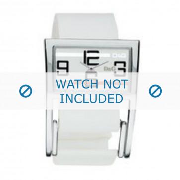 Cinturino per orologio Dolce & Gabbana 3719251192 Pelle Bianco 18mm
