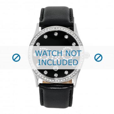 Cinturino per orologio Dolce & Gabbana DW0008 Pelle Nero 24mm