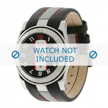 Dolce & Gabbana cinturino dell'orologio DW0216 Pelle Nero