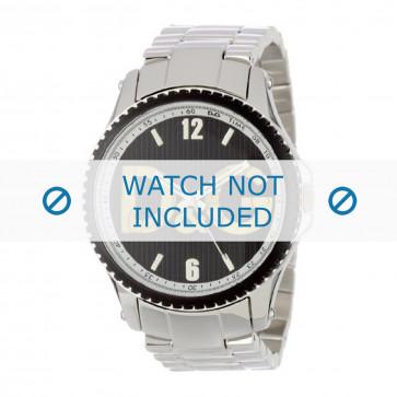 Dolce & Gabbana cinturino dell'orologio DW0703 Metallo Argento 22mm