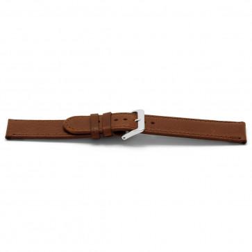 Cinturino orologio in pelle, marrone, 24mm EX-I401Z