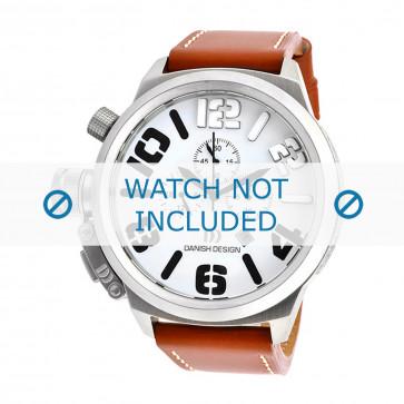 Danish Design cinturino dell'orologio IQ12Q917 Pelle Cognac 23mm + cuciture bianco