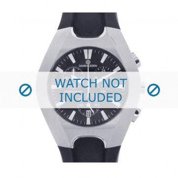 Danish Design cinturino dell'orologio IQ13Q600 Gomma / plastica Nero