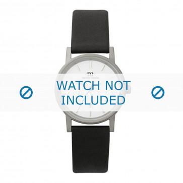 Danish Design cinturino dell'orologio  DD 15mm / IV12Q171 Pelle Nero 15mm