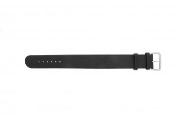 Danish Design cinturino dell'orologio IV13Q676 / IV12Q676 Pelle Nero 24mm