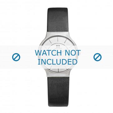 Danish Design cinturino dell'orologio IV12Q732 Pelle Nero 16mm
