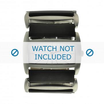 Cinturino per orologio Davis 0751 Pelle Nero 36mm