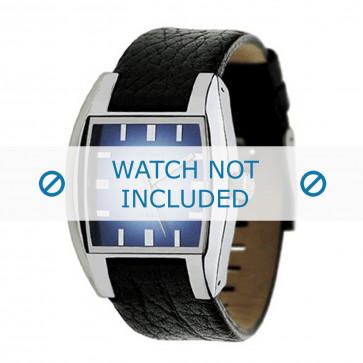 Cinturino per orologio Diesel DZ1032 Pelle Nero 17mm
