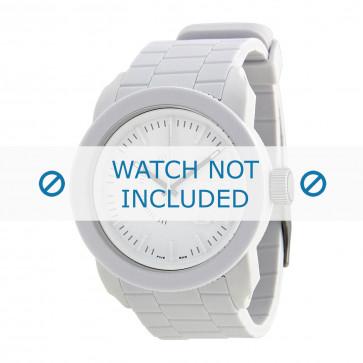 Cinturino per orologio Diesel DZ1436 Silicone Bianco 24mm