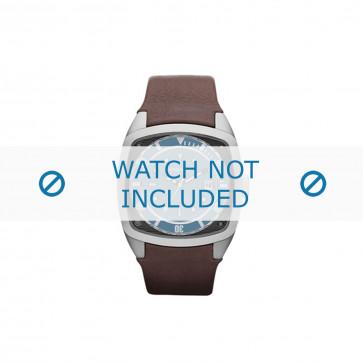 Diesel cinturino dell'orologio DZ1491 Pelle Marrone 24mm