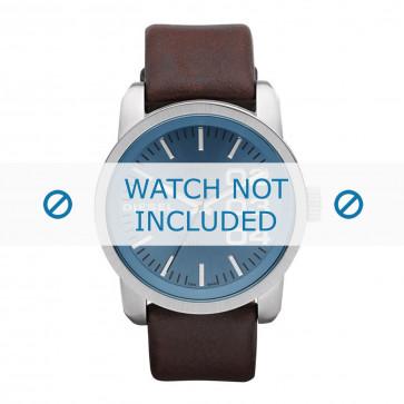 Diesel cinturino dell'orologio DZ1512 Pelle Marrone scuro 24mm
