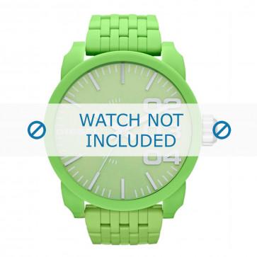 Diesel cinturino dell'orologio DZ1574 Plastica Verde 28mm