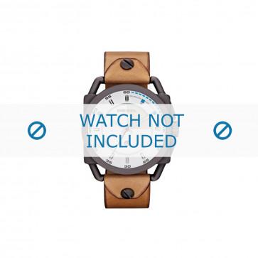Diesel cinturino dell'orologio DZ1576 Pelle Marrone 24mm