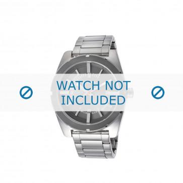 Diesel cinturino dell'orologio DZ1595 Acciaio inossidabile Argento 22mm