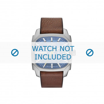 Cinturino per orologio Diesel DZ1654 Pelle Marrone 24mm