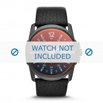 Cinturino per orologio Diesel DZ1657 Pelle Nero 27mm