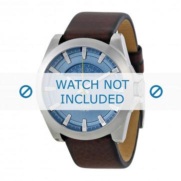 Cinturino per orologio Diesel DZ1661 Pelle Marrone 24mm