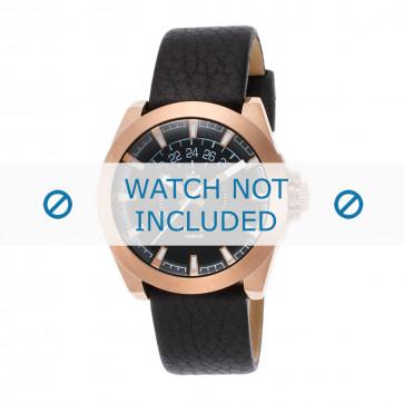 Cinturino per orologio Diesel DZ1733 Pelle Nero 20mm