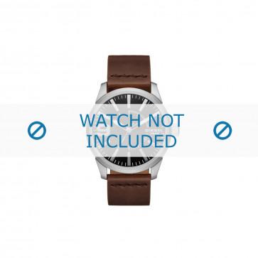 Cinturino per orologio Diesel DZ1802 Pelle Marrone 24mm