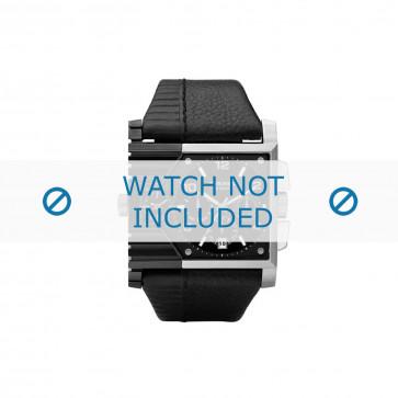 Diesel cinturino dell'orologio DZ4185 Pelle Nero 37mm