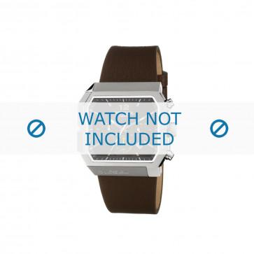 Diesel cinturino dell'orologio DZ4191 Pelle Marrone 30mm